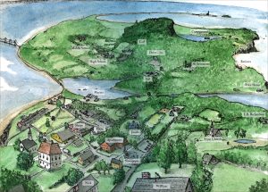 Map of Mystic Island